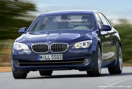 2011 BMW 5-Series Rendering