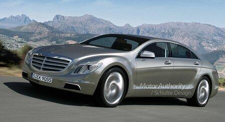 Mercedes S-class 2012
