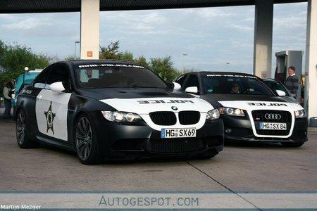 BMW Audi Ring Police