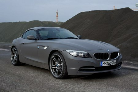 BMW Z4 Matte Grey