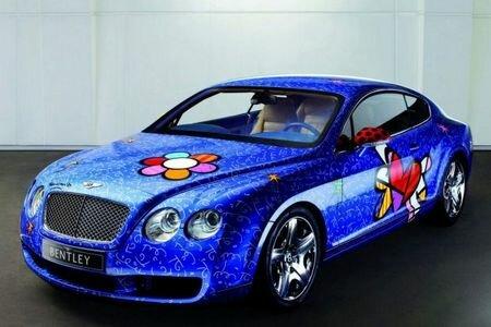 Bentley Continental GT Pop Art