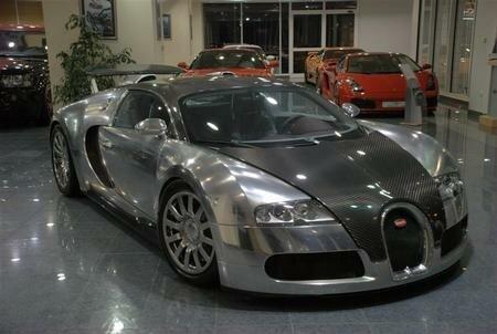 Bugatti Veyron in Abu-Dhabi