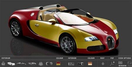 Bugatti Veyron 16.4 Configurator