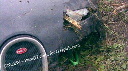 Bugatti Veyron Crash