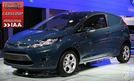 Ford Fiesta Panel Van