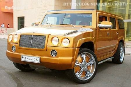 Hummer Bentley SUV