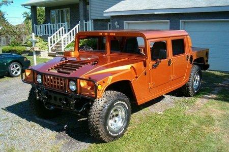 Hummer H150 based Ford