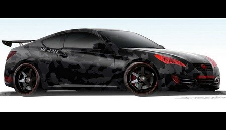 Hyundai Genesis Coupe Tuning