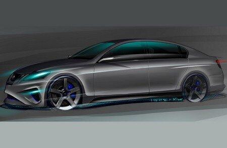 Lexus GS460 Sema