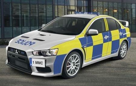 Mitsubishi Lancer Evolution X Police Edi