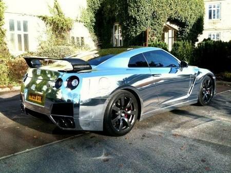 Nissan GT-R Chrome
