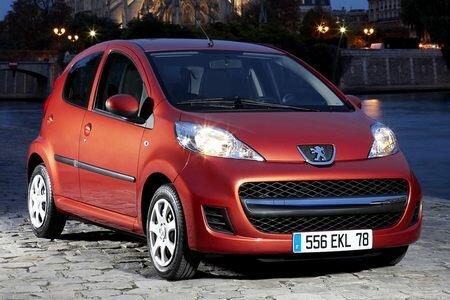Peugeot 107 Facelift 2009