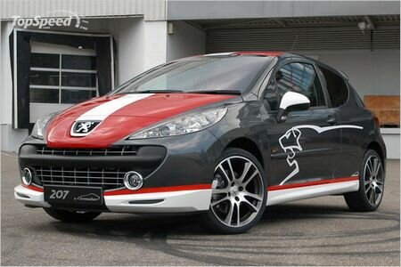 Peugeot 207 by Irmscher