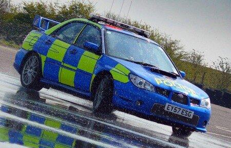 Prodrive Subaru Impreza Police Car