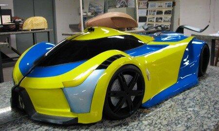 Renault Hybird Supercar