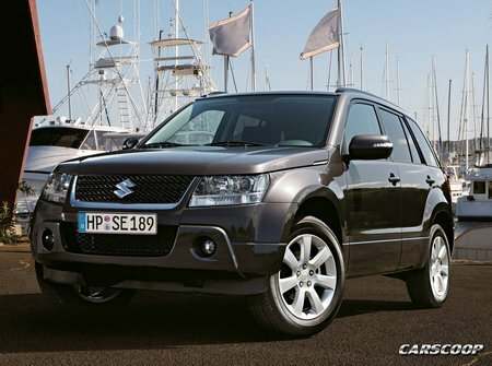 Suzuki Grand Vitara Facelift 2009
