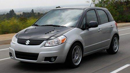 Suzuki SX4t Crossover Concept