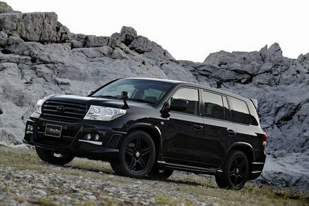 Toyota Land Cruiser Black Bison by Wald